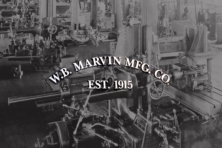 W. B. Marvin MFG Co. established 1915
